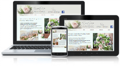 Esme Rose Florists Website