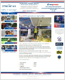 Evergreen Management Website, Wellingborough