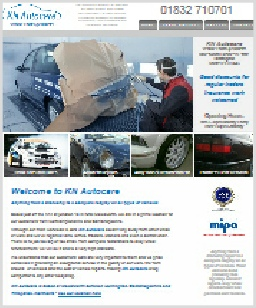 KN Autocare Website Molesworth, Cambs