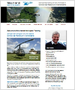 Mike Horrell Helicopter Training