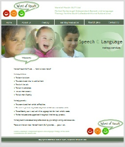 Word of Mouth Speech Therapy Website